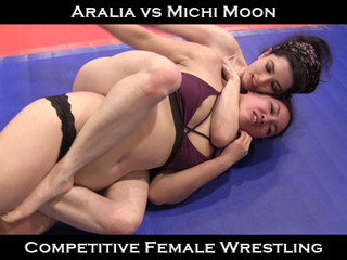 Wrestling submission female Domination and