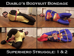 superhero bondage