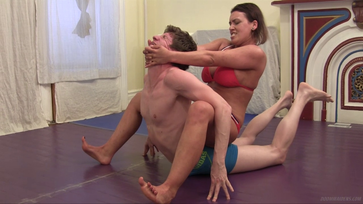Clips4sale mixed wrestling