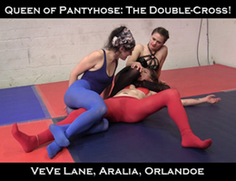 Pantyhose Mixed Wrestle 111