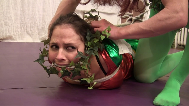 and bondage wrestling Woman