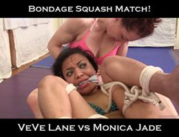 bondage squash match